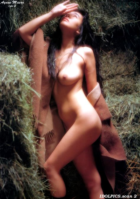 Japanese Model Ayane Miura Nude On The Countryside Part 3