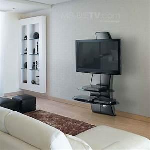 meuble tv ghost design 2000 noir la nouvelle innovation With meuble tv meliconi ghost design 2000