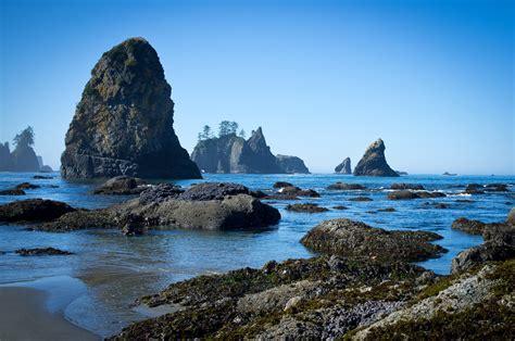 beach shi washington wa point arches