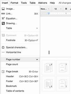 customizable headers footers and page numbers in google With google docs add header