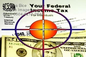 of target point and irs tax form money being