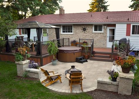patios and decks for small backyards six ideas for backyard patio designs theydesign