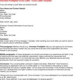 letter of application volunteer work