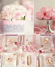 Gold and Pink Bridal Shower Ideas