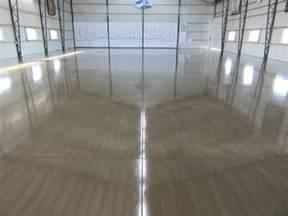 Sealed Concrete Floor by Pole Barn Concrete Floor Option Premier Concrete