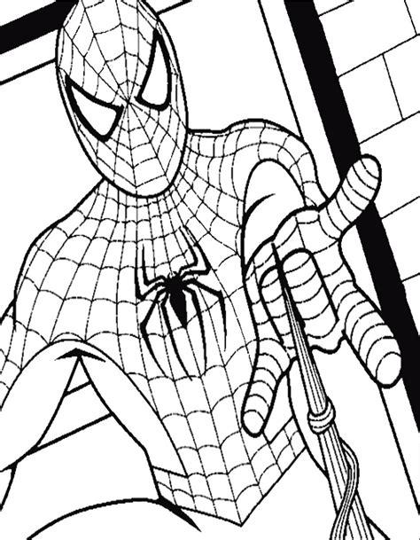 disegni  spider man da colorare  stampare  disegno