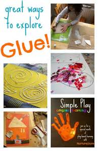 Art Projects for Kids Using Glue