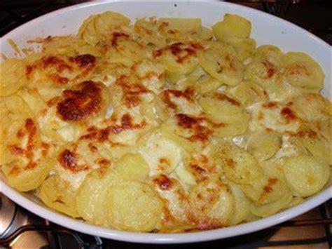 cuisine facile com gratin de pommes de terre