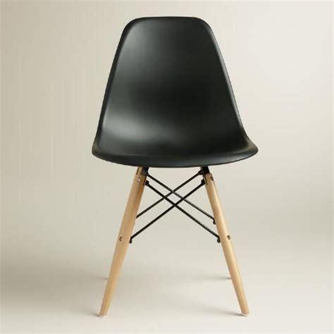 black molded evie chairs set of 2 world world market