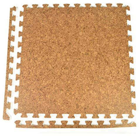 cork flooring 24x24 24 quot x24 quot wood grain and cork interlocking foam floor tiles set of 25 contemporary cork