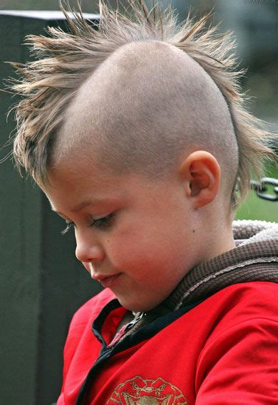 Boys Hairstyles Mohawk by Mohawk Hairstyle Children S Layered Hairstyles