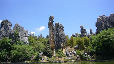 Cool Karst At China's Shilin Stone Forest 270 Million