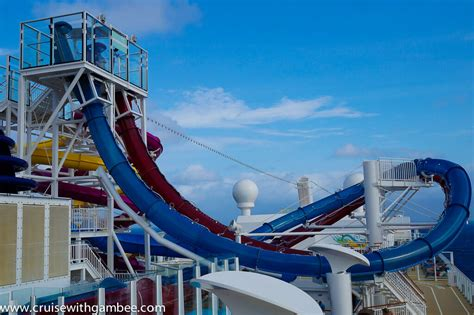 Cruise Ships Water Slides Review - Cruise With Gambee