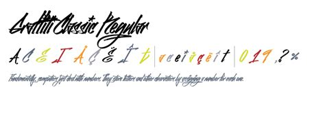 Graffiti Classic Dafont : Graffiti Classic Regular