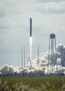 Antares Rocket With Cygnus Spacecraft Launches From ...
