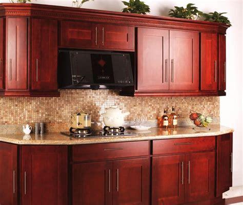 Modern Galley Kitchen Ideas - small kitchen cabinet design with cherry wood home improvement 2017