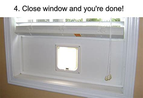 window cat door fast flap cat door window insert with locking flap 30 quot 36