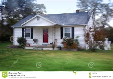 small country home stock image image  dwelling blue