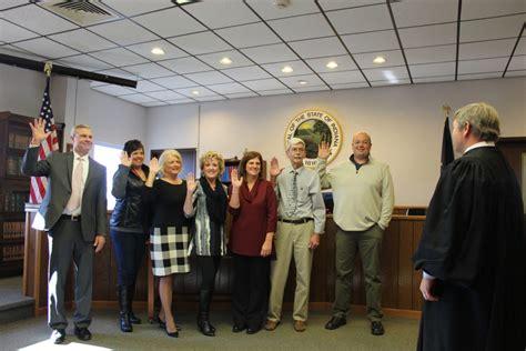 cass county elected officials sworn office