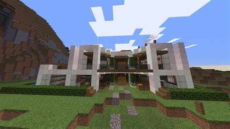 Moderne Häuser Bauplan by Moderne Villa Mit Garten In Minecraft Bauen Minecraft