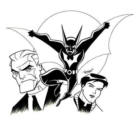 outline  batman   clip art  clip