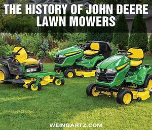 John Deere Lawn Mower Comparison Chart