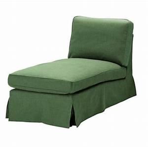 IKEA EKTORP Chaise Longue COVER Slipcover SVANBY GREEN