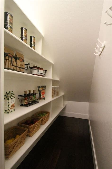 Shelves and storage spaces under staircase are the best tricks to use the area underneath the stairs.how many of you thought about using it's all about the stairs; Under The Stairs Pantry - Contemporary - kitchen - Aloha Home Builders