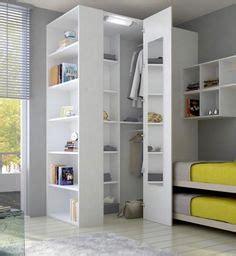 eck kleiderschrank  weiss small apartements