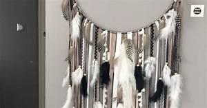 Attrape Reve Geant : attrape r ves dreamcatcher geant en bois flott coloris taupe blanc et noir chambre d ~ Teatrodelosmanantiales.com Idées de Décoration