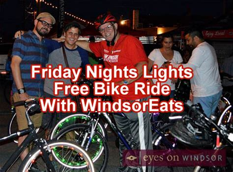 friday lights free friday lights free bike ride with eats