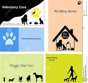 Biglietti Da Visita Per I Cani/animali Domestici