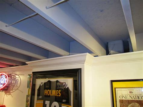 Inexpensive Basement Ceiling Ideas by 16 Creative Basement Ceiling Ideas For Your Basement