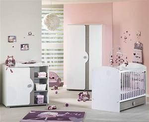 Chambre bebe fille complete Photo lit bebe evolutif