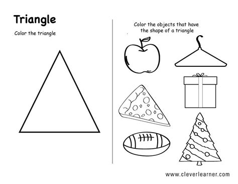 image result for shape triangle worksheets for toddlers 402 | c5569cb16f959c3eb7e604462ad4c127