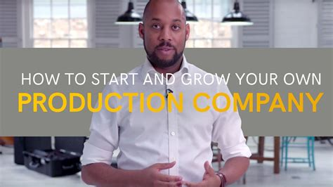 How To Start And Grow Your Own Production Company  Youtube. Refinancing Debt Consolidation. Credit Cards International Travel. Cosmetology School Branson Mo. S T A R Physical Therapy Cheapest Law Degree