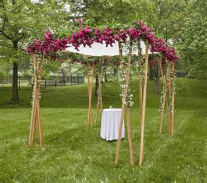 how to make a chuppah becoming smiths chuppah