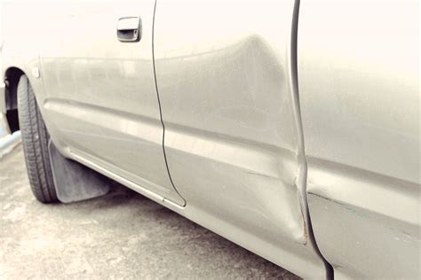 Car Bodywork Repair Of Dent And Scratch Removal