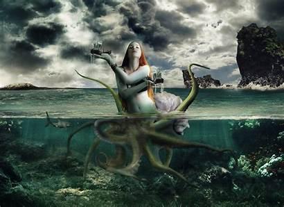 Mermaid Supernatural Fantasy Wallpapers Sfondi Fantasie Desktop