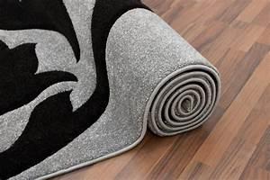 davausnet tapis de salon blanc et gris avec des idees With tapis gris et prune