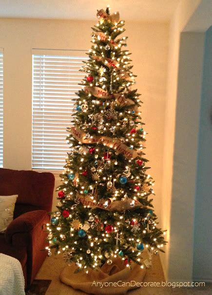 hometalk diy burlap christmas tree garland