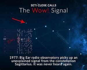 Seti Close Calls  The Wow  Signal