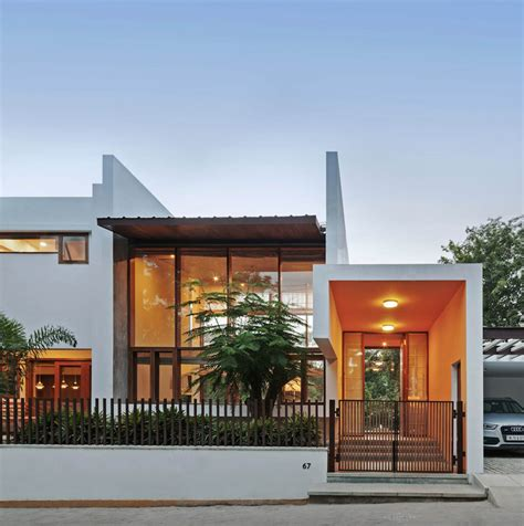 Moderne Häuser Top 100 by L Plan House Khosla Associates Archdaily