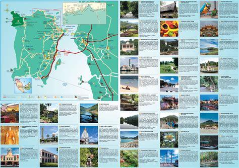 penang hotels  sightseeings map