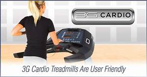 Does A Treadmill Console Confuse You  3g Cardio Treadmills