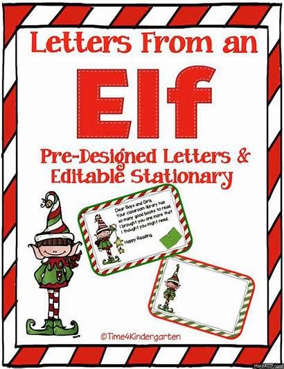 Elf Stationary Shelf Letter Blank Letters Editable