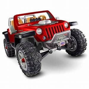 Power Wheels U0026174 Jeep U0026174 Hurricane With Monster Traction U2122 Red Shop