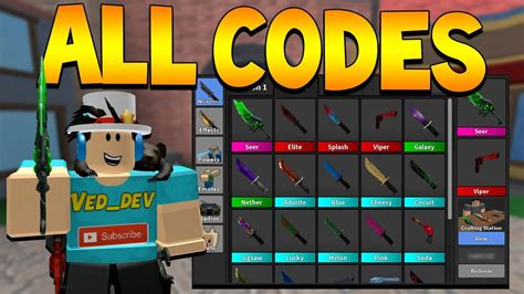 Benefit from the roblox mm2 video game more with all the subsequent murder mystery 2 codes that people have! Roblox Murderer Mystery 2 How To Get Elite For Free | Rxgate.cf To Redeem It