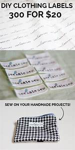 7 unique diy clothing labels mabey she made it for Clothing labels for you