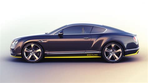 2018 Breitling Bentley Continental Gt Side View Wallpaper